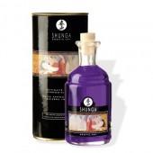 Olio da massaggio Afrodisiaco all'uva riscaldante e commestibile 100ml