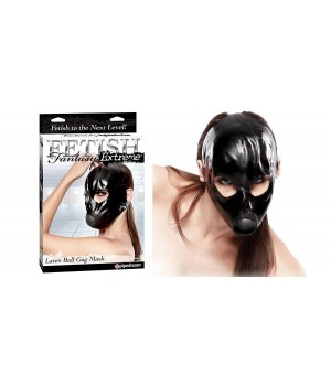 Maschera fetish realizzata in lattice di alta qualità
