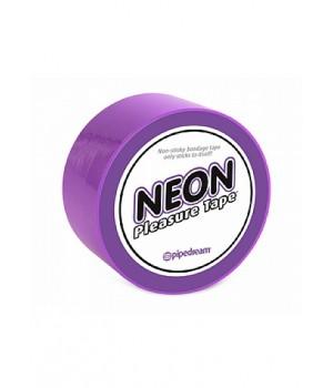 Bondage-Neon Bondage Tape - Purple