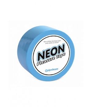 Bondage-Neon Bondage Tape -Blue