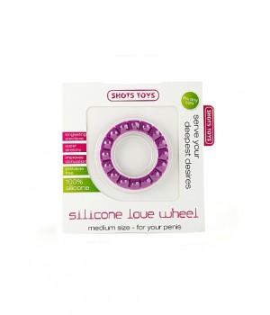 Anello fallico ottagonale in silicone-Love Whee (oggettistica)