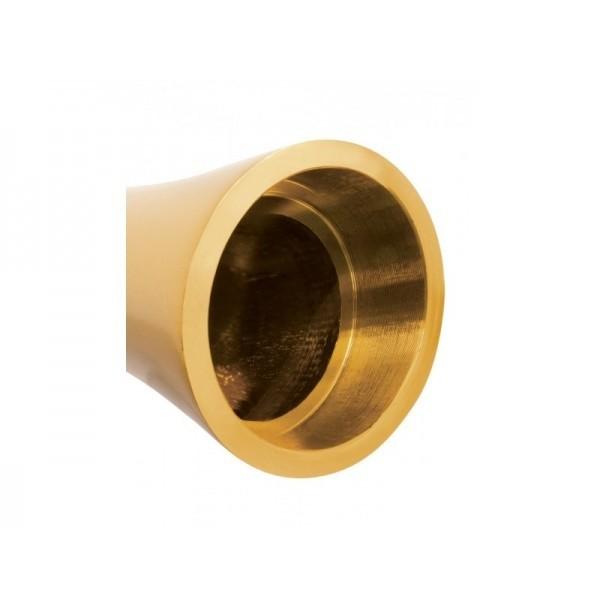 Vibratore di Design Pure aluminium gold